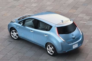Nissan Leaf posteriore