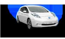 Nissan Leaf White Solid