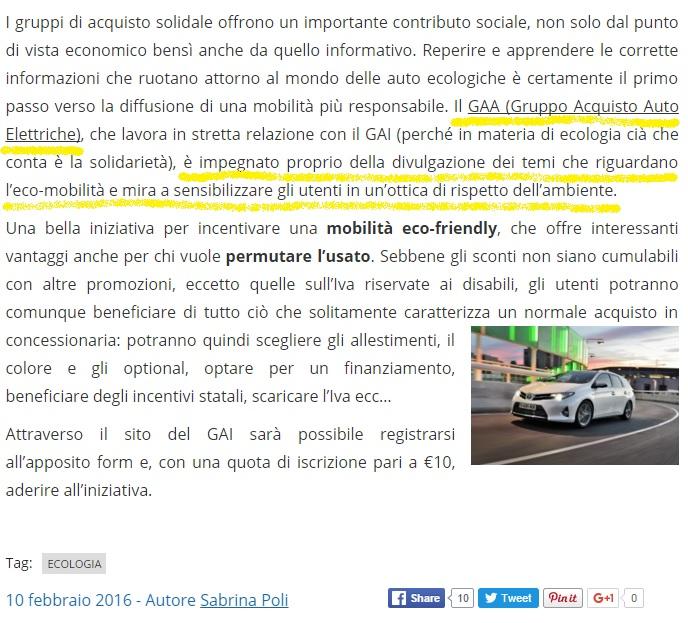 articolo InfoMOTORI
