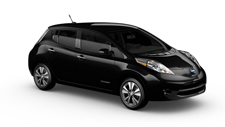 Nissan Leaf nera