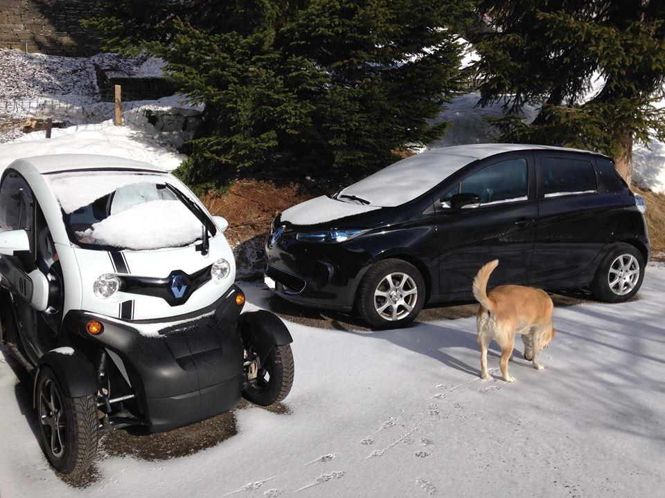 Renault Zoe e Twizy