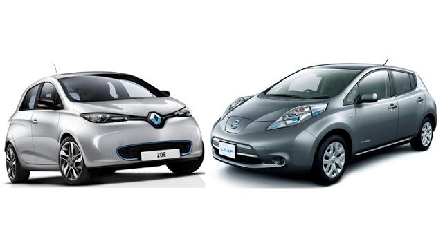 Renault Zoe vs Nissan Leaf