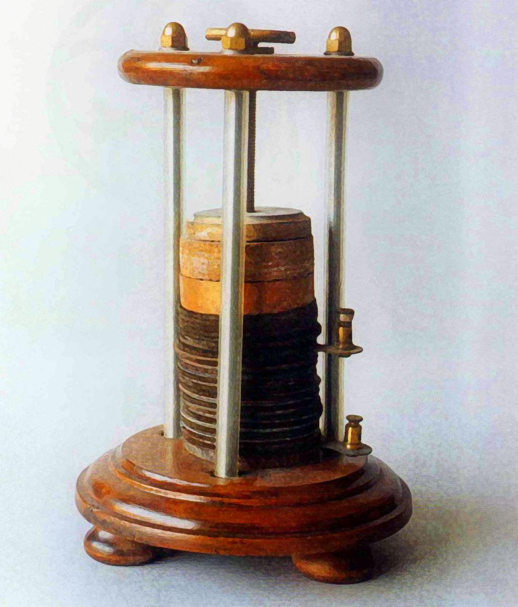 pila voltaica di Alessandro Volta