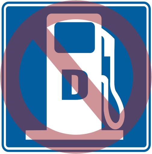no diesel