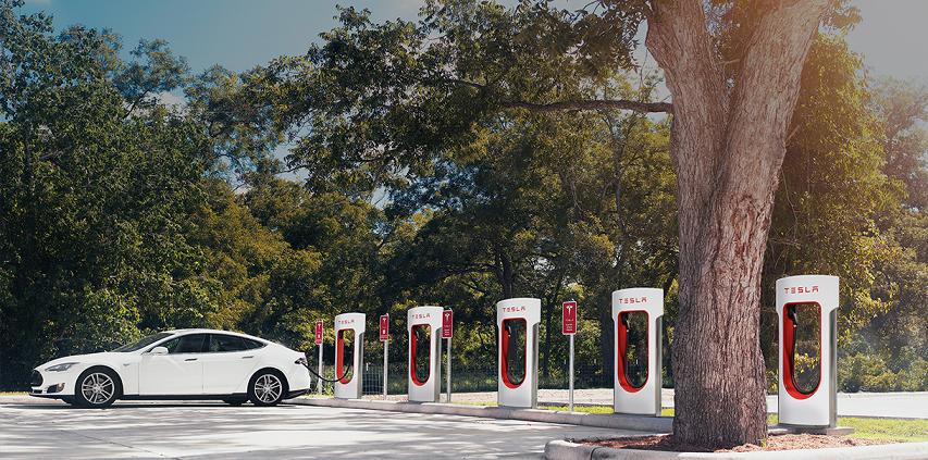 supercharger Tesla