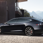 tesla model S nera