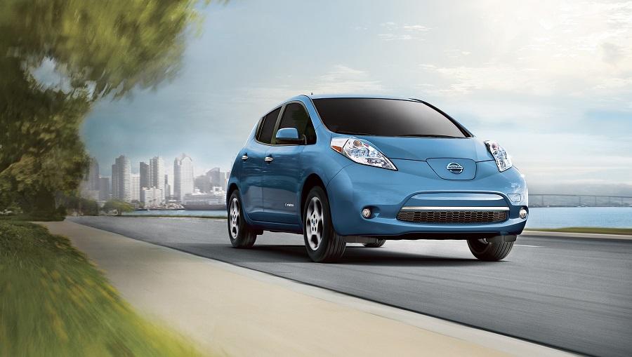 Nissan Leaf 2015 Azzurra