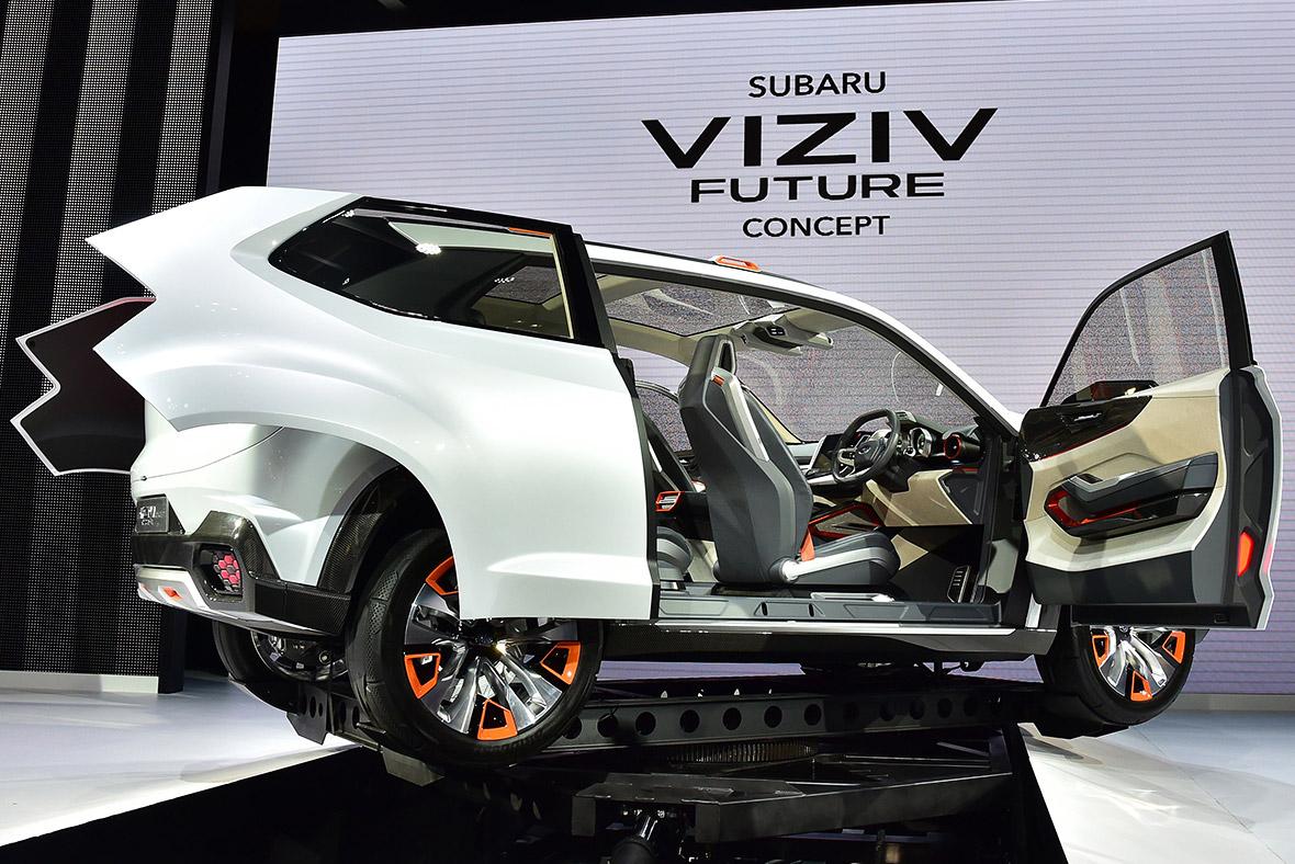 Subaru Visiv concept SUV