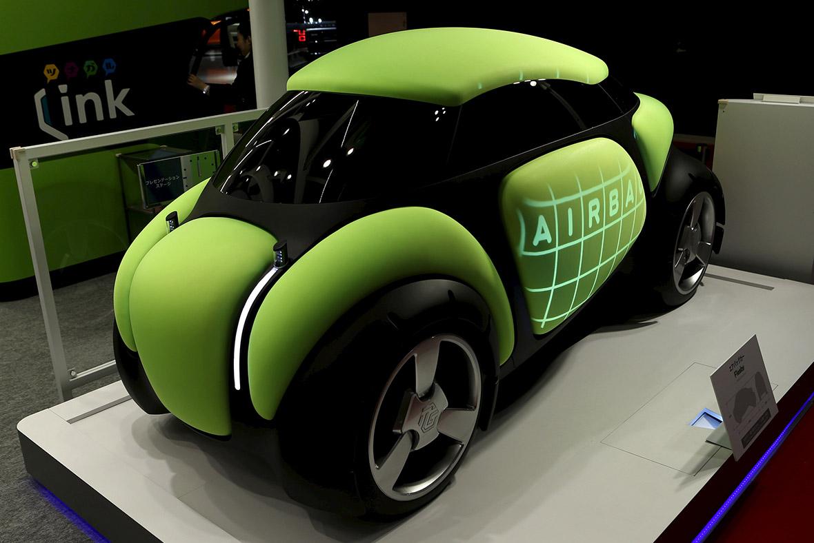 Toyoda Gosei's Flesby Airbag