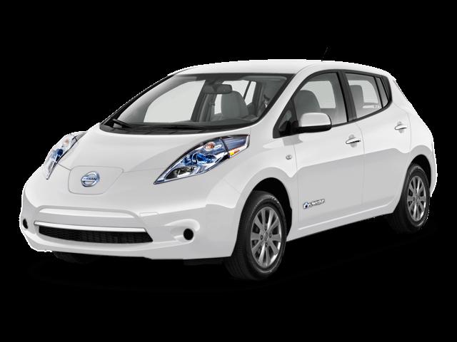 Nissan Leaf bianco ghiaccio
