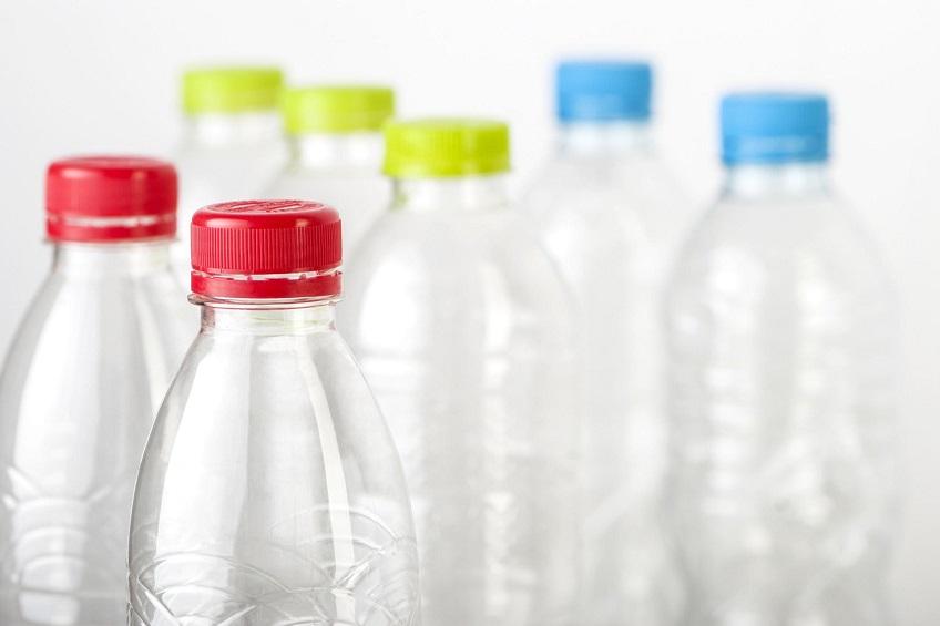 bottiglie di plastica riciclabili