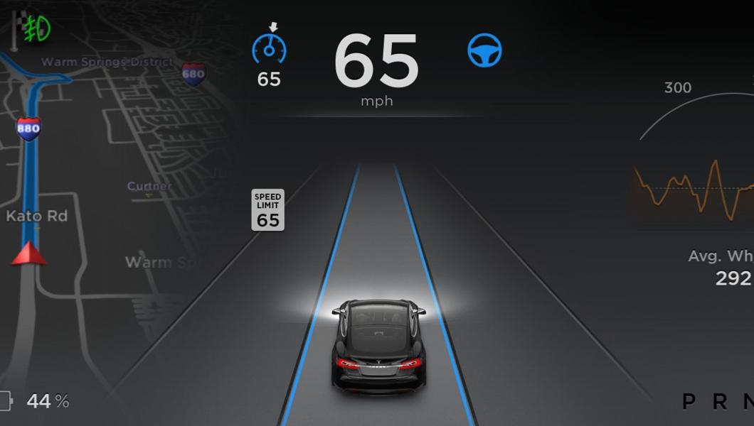tesla model s autopilot software 7