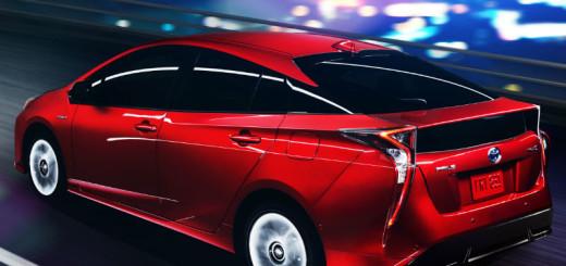 Toyota Prius 2016 posteriore