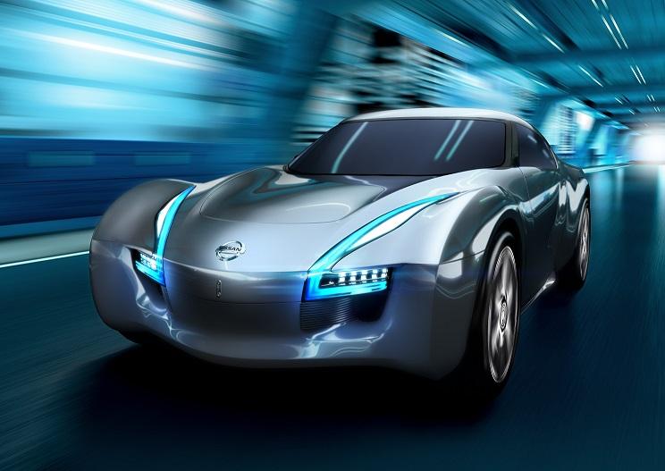 auto nissan elettrica