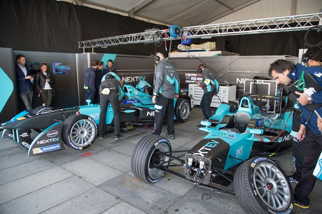 pit stop Formula E