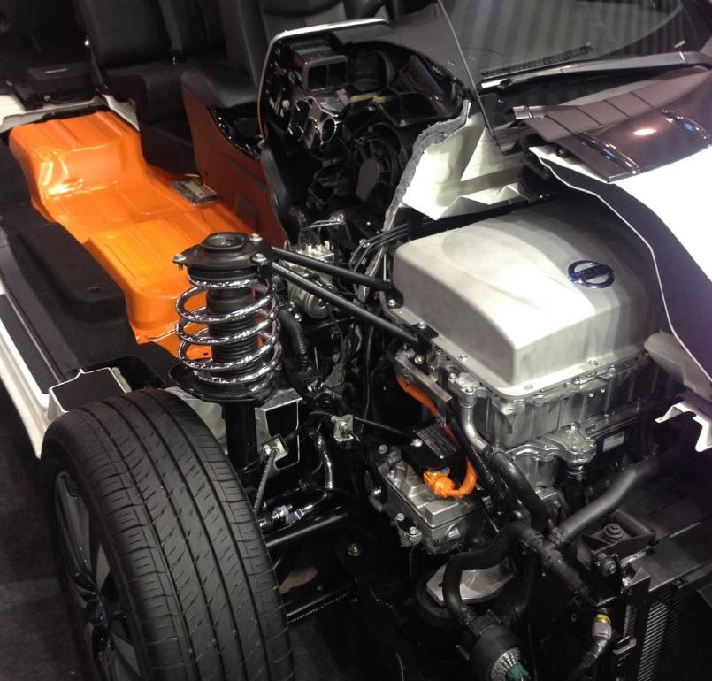 Auto pulite: Nissan LEAF
