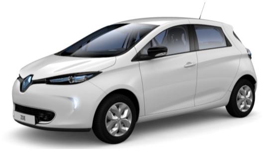 Auto elettriche 2016 - Renault ZOE