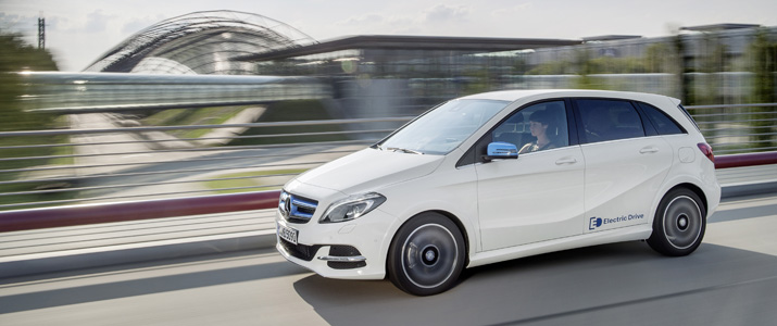 Auto elettriche 2016: Mercedes Benz Classe B Elettrica
