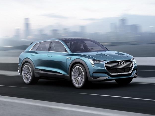 autonomia auto elettriche - Audi Q6 e-tron