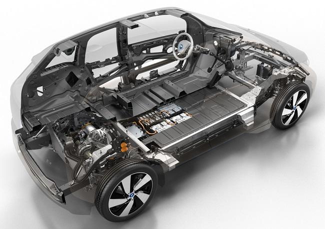autonomia auto elettriche - BMW i3