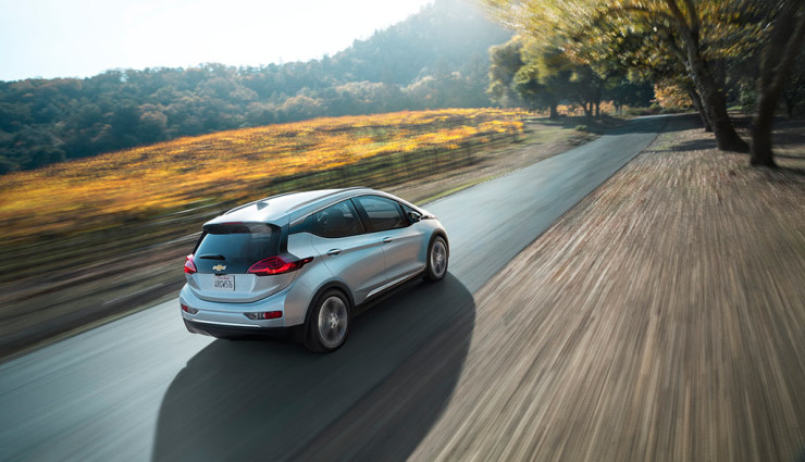 autonomia auto elettriche - Chevrolet Bolt