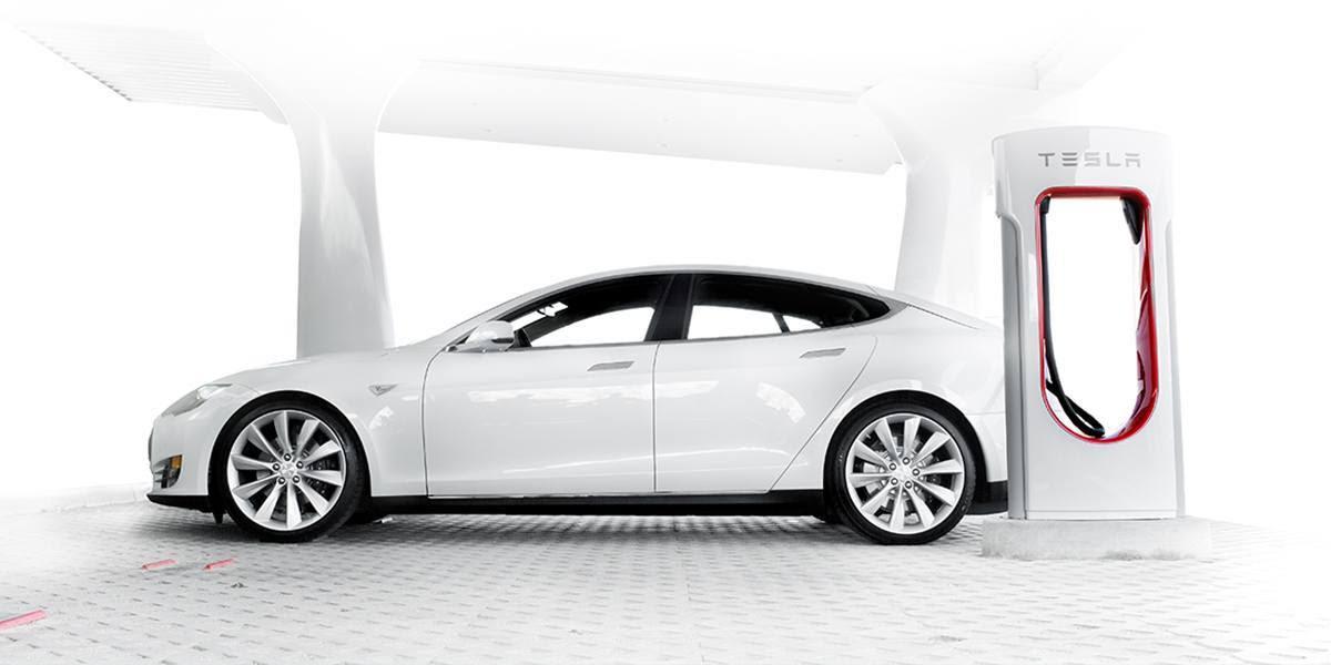 supercharger - tesla model S