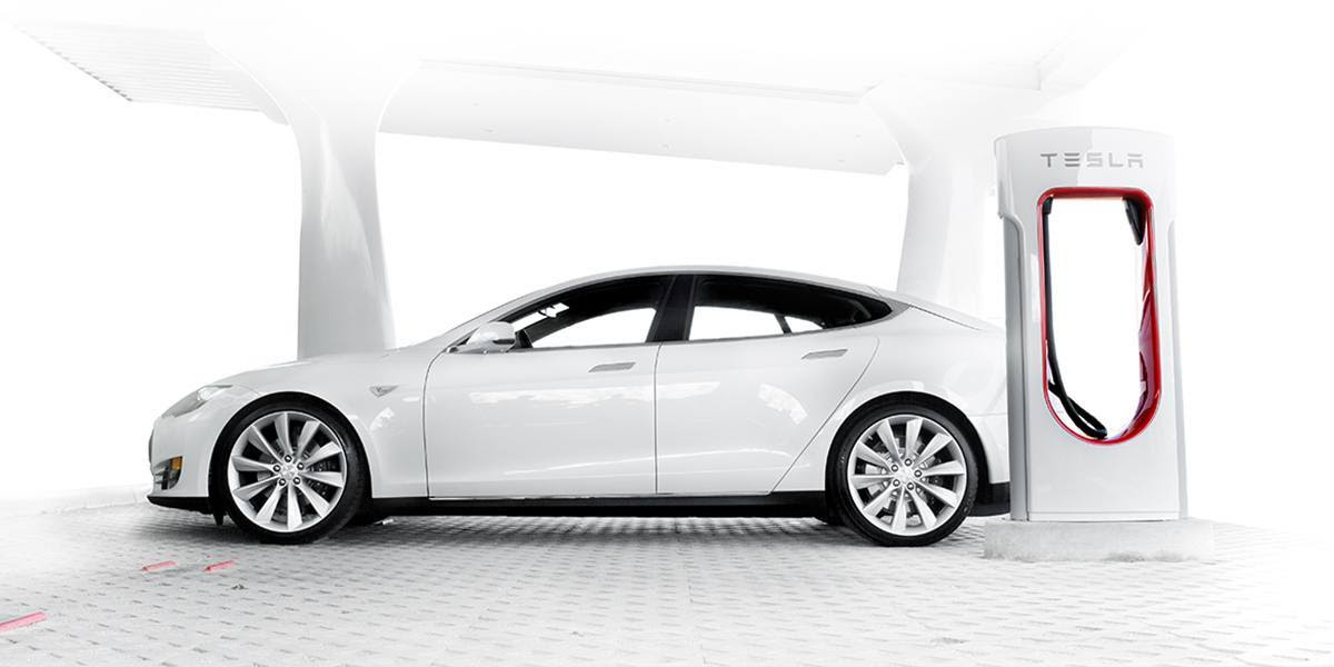 supercharger - tesla model S