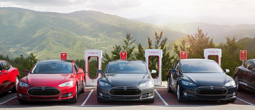 supercharger - test drive Tesla
