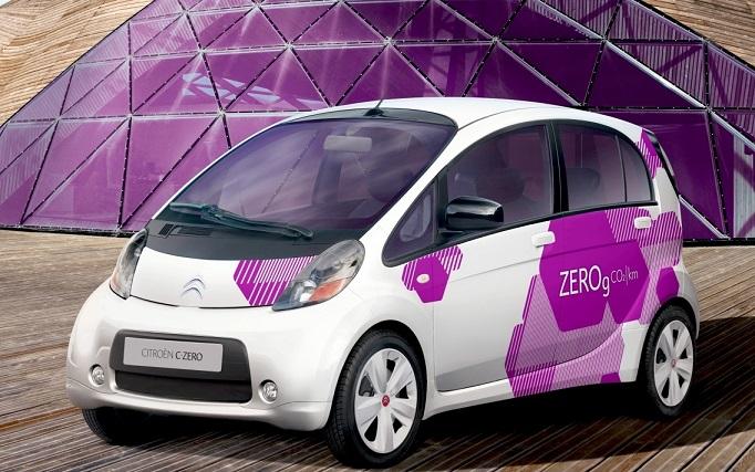 vendite auto elettriche - citroen c-zero