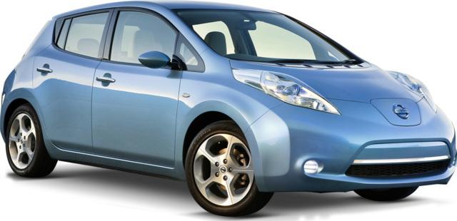 punto di pareggio - frontale anteriore Nissan LEAF