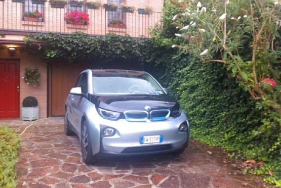 Pier Luigi e la sua BMW i3