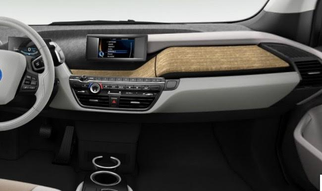 BMW i3 - seconda parte cruscotto BMW i3 LODGE