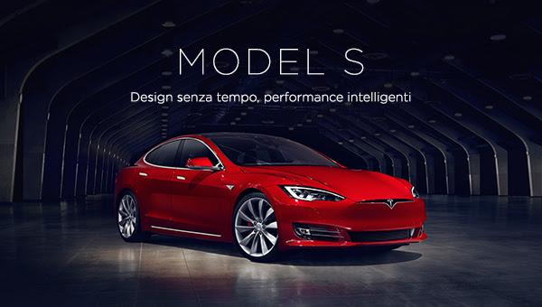 evoluzione di Tesla Model S - Tesla Model S Rossa