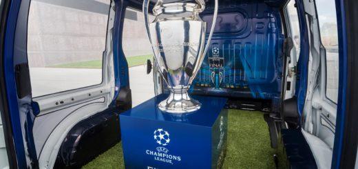 Nissan elettrizza Milano Coppa UEFA
