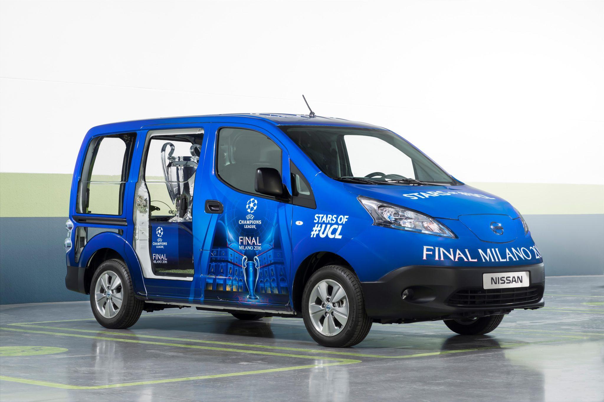 Nissan elettrizza Milano e-NV200