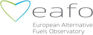statistiche sulle auto elettriche - logo EAFO