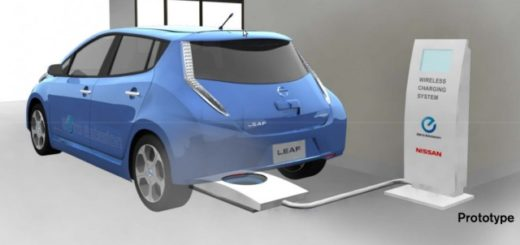 ricarica wireless per le auto elettriche