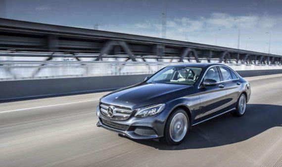 vendite di auto elettriche - Mercedes C350e