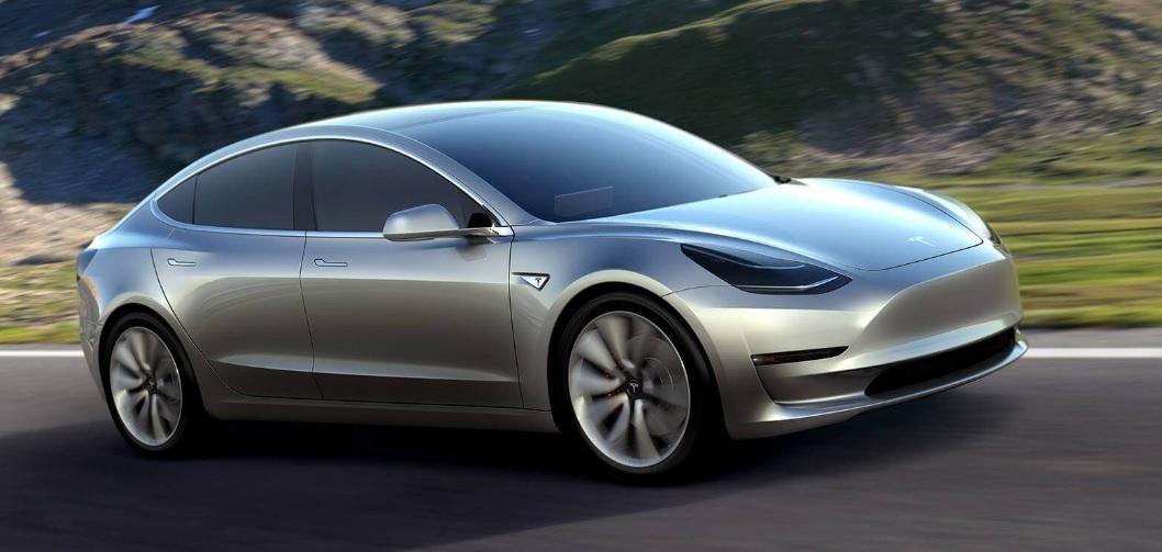 Tesla Model 3 Foto Ufficiale