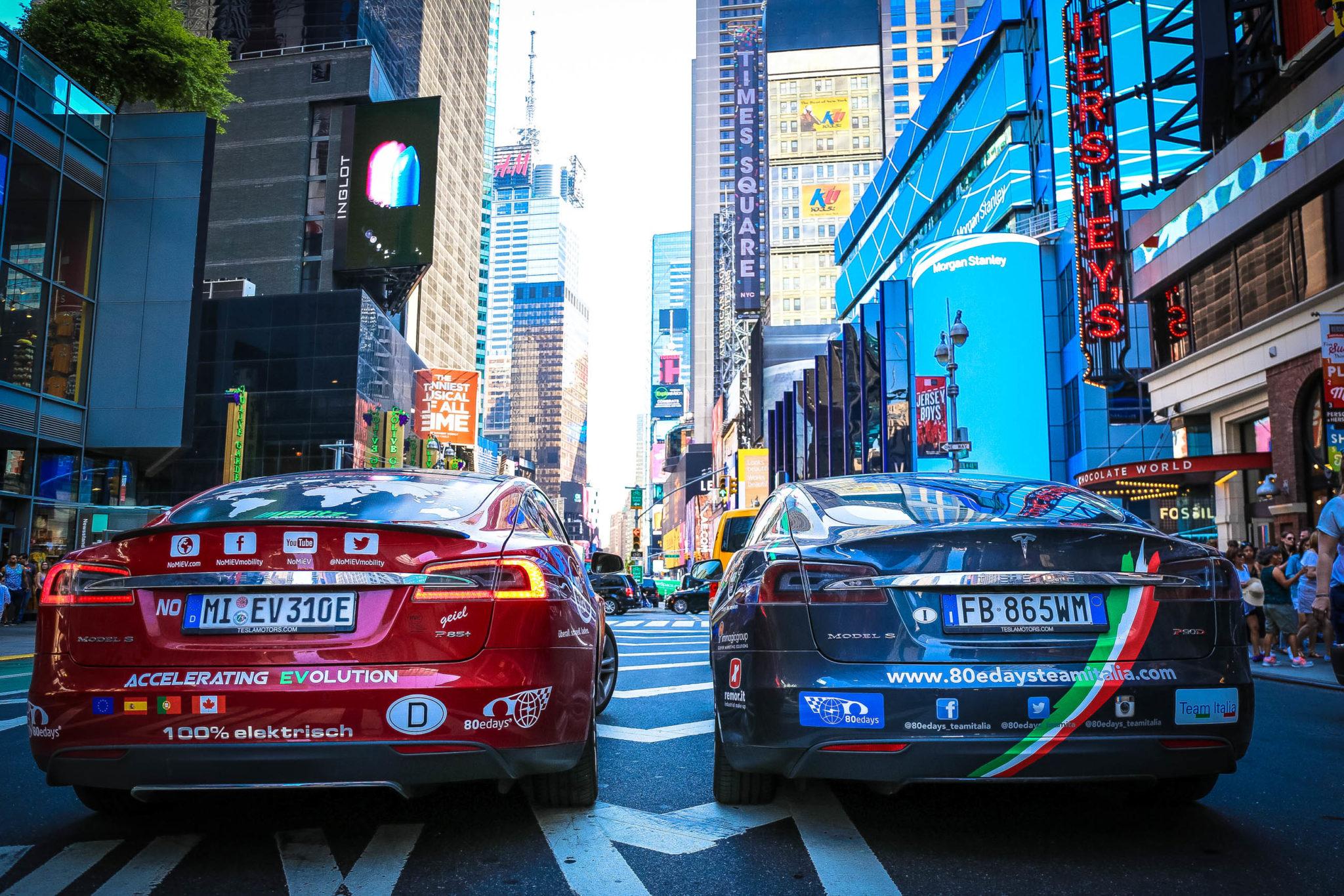 odissea del Team Italia - Times Square 2