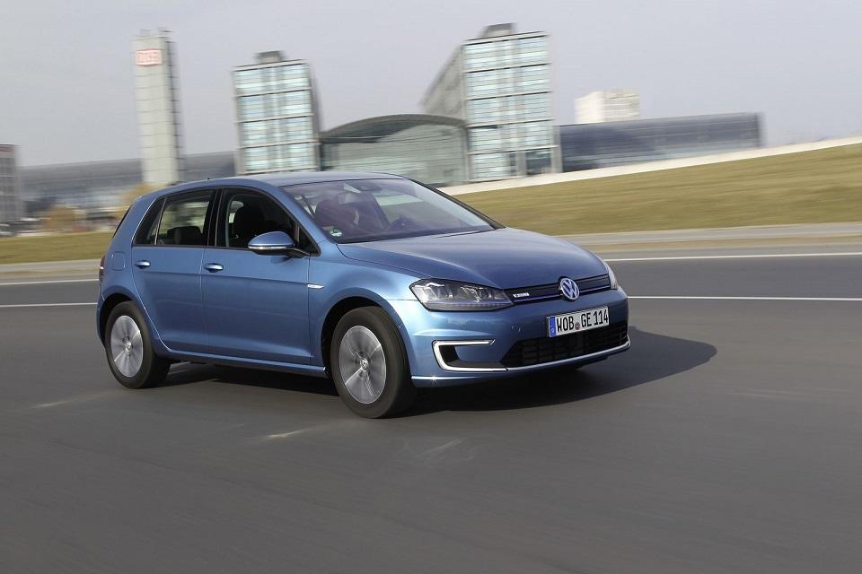 quota di mercato delle auto plug-in: Volkswagen e-Golf