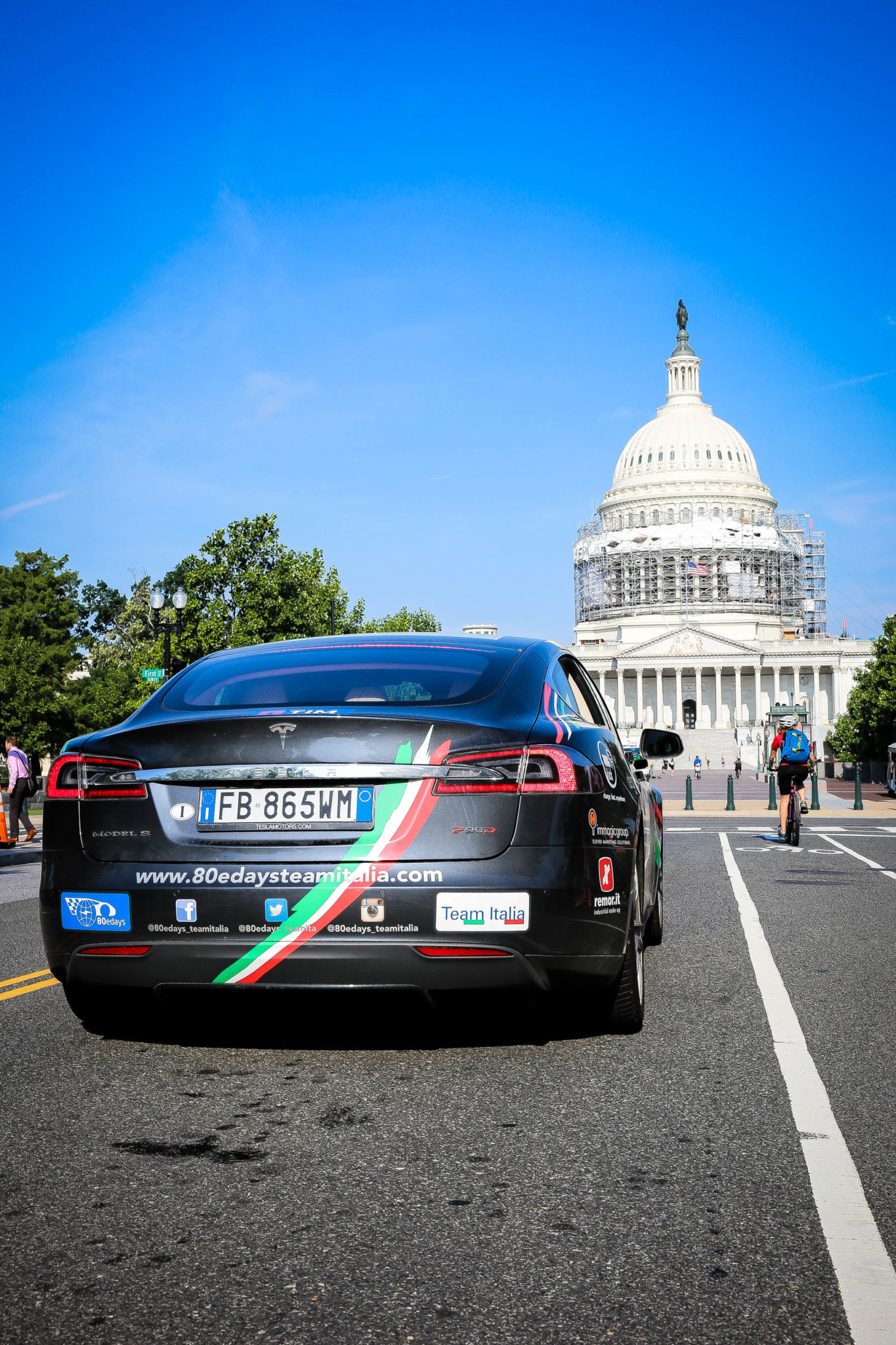 odissea del Team Italia - Washington DC