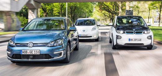BMW-i3-Nissan-Leaf-VW-E-Golf