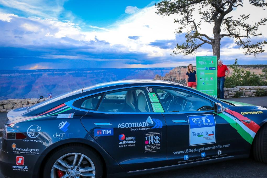 80edays Team Italia - Grand Canyon