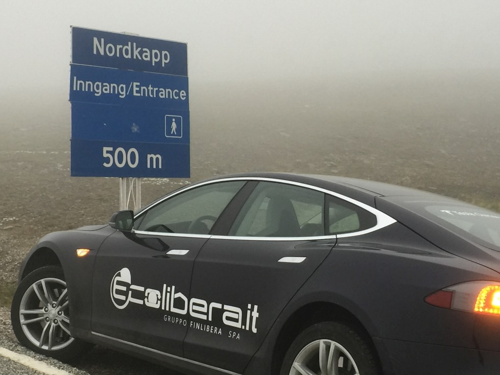 World Tour Ecolibera.it - Tesla Model S Capo Nord