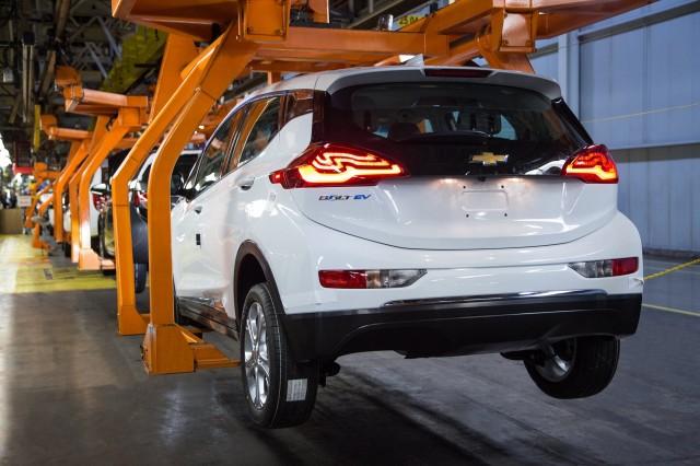 Autonomia Opel Ampera-E - Chevrolet Bolt EV produzione