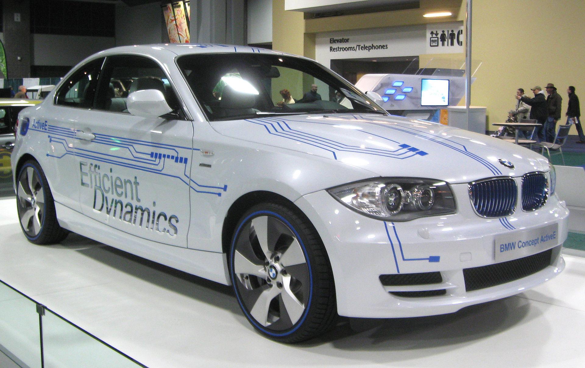 Autonomia auto elettriche 2016 - BMW Active E