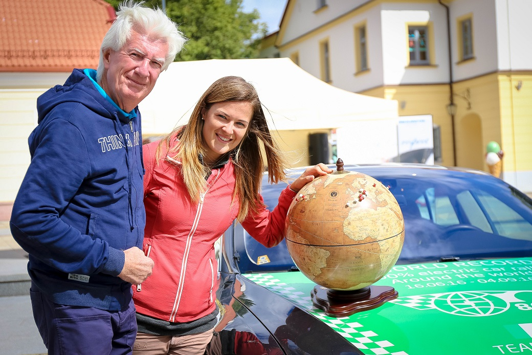 80edays Team Italia Federico e Carolina