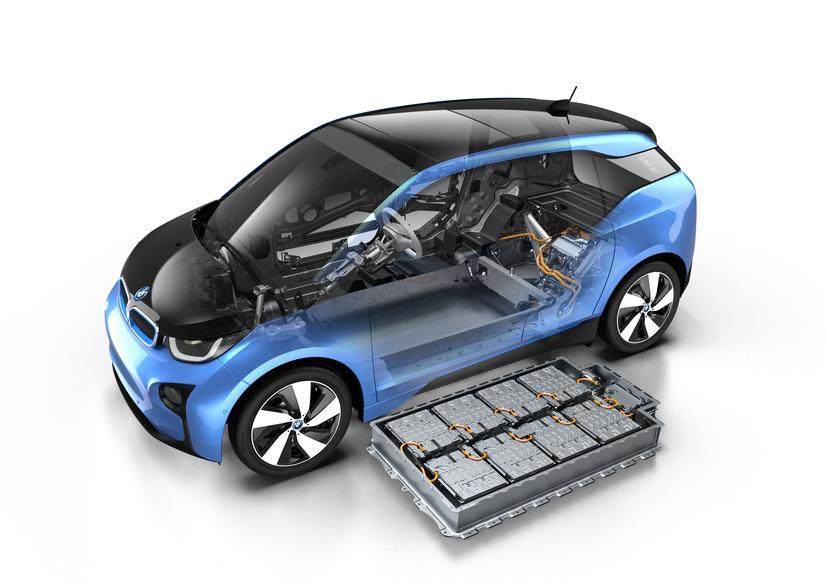BMW i3 autonomia - pacco batteria