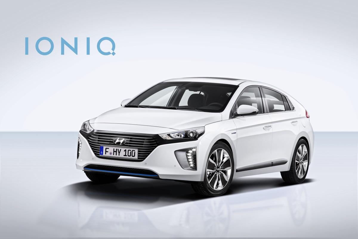 Autonomia auto elettriche 2016 - Hyundai Ioniq BEV